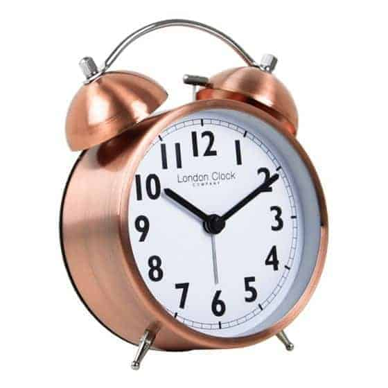 COPPER FINISH TWINBELL ALARM  Thompsons Lighting & Interiors