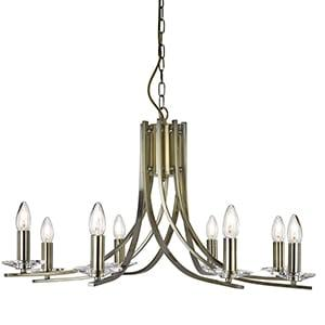 SEARCHLIGHT ASCONA 8 Light Fitting 4168-8AB