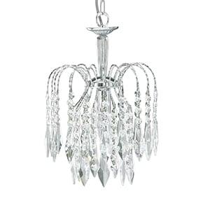 SEARCHLIGHT Waterfall Crystal Pendant 4271-1