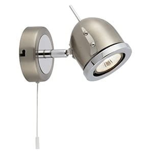 SPOT PALMA WALL LIGHT S/SILVER
