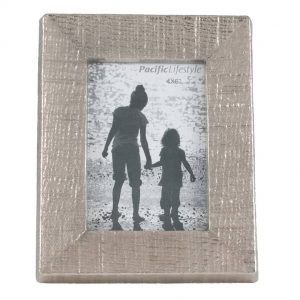 Textured Nickel Aluminium & Glass Photo Frame 4×6