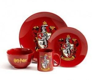 HARRY POTTER 4 PIECE DINNER SET – GRYFFINDOR