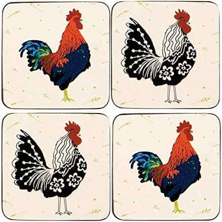 ROOSTER PLACEMATS PK4  Thompsons Lighting & Interiors