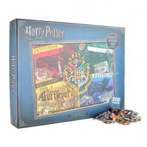 HARRY POTTER JIGSAW PUZZLE (500 PIECES) – HOUSES