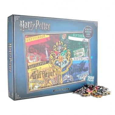 HARRY POTTER JIGSAW PUZZLE (500 PIECES) - HOUSES  Thompsons Lighting & Interiors