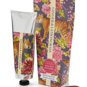 GINGER & LEMONGRASS HAND CREAM TUBE