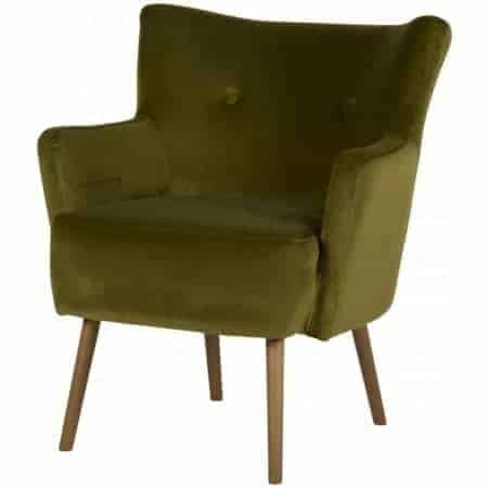 Green Occasional Arm Chair  Thompsons Lighting & Interiors