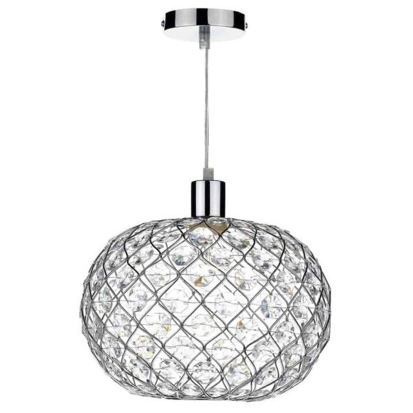 JUANITA SMALL EASY FIT CHROME  Thompsons Lighting & Interiors