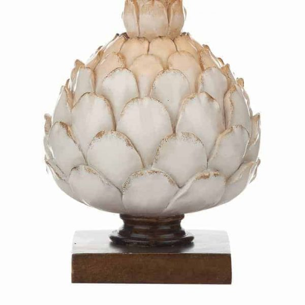 LAYER TABLE LAMP CREAM SMALL COMPLETE WITH SHADE  Thompsons Lighting & Interiors