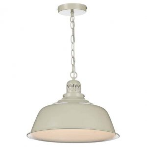 NANTUCKET 1 LIGHT PENDANT PUTTY
