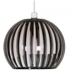 Smoked Acrylic Rib Easy- Fit Large Shade