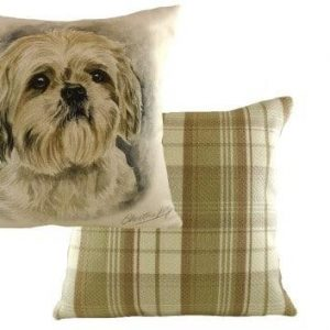 Waggydogz Boston Collection-Shihtzu Cushion