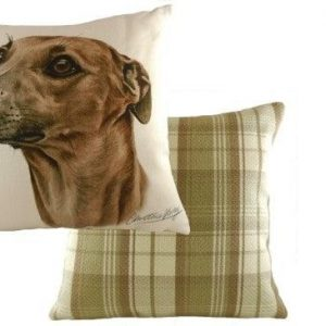 Waggydogz Boston Collection-Whippet Cushion