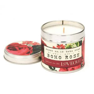 LITTLE LIGHTS – BOHO ROSE CANDLE