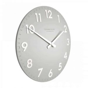 20″ Camden Wall Clock Smoke