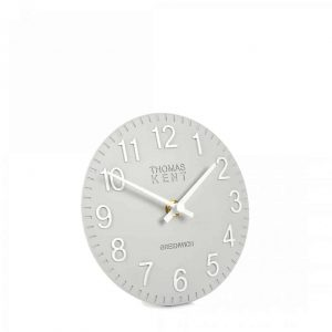 6″ Cotswold Mantel Clock Smoke