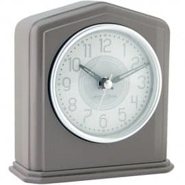 London Clock Company Grey Piano Finish Mantle Clock