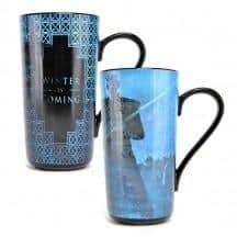 GAME OF THRONES HEAT CHANGING LATTE MUG  Thompsons Lighting & Interiors