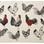 ROOSTER COASTERS PK4