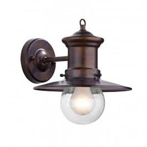 SEDGEWICK 1 LIGHT LANTERN BRONZE DOWN FACING IP44