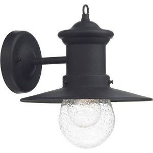 SEDGEWICK 1 LIHT LANTERN BLACK DOWN FACING IP44