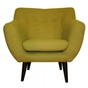 Green Scandinavian Occasional Chair