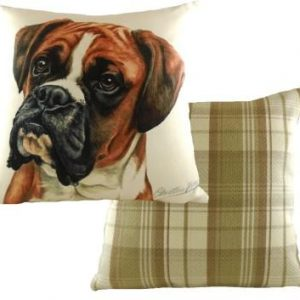 Waggydogz Boston Collection-Boxer Dog Cushion