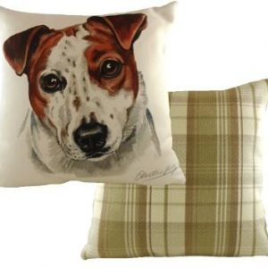 Waggydogz Boston Collection-Jack Russell Cushion