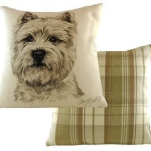 Waggydogz Boston Collection-Westie Cushion