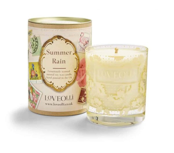 LoveOlli Signature Summer Rain Candle  Thompsons Lighting & Interiors