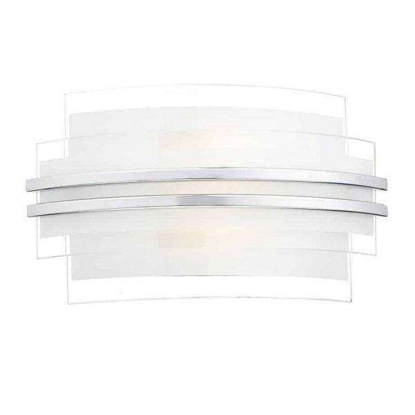 SECTOR DOUBLE TRIM LED WALL LIGHT SMALL  Thompsons Lighting & Interiors