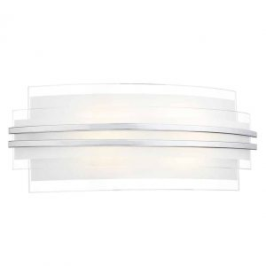 SECTOR DOUBLE TRIM LED WALL LIGHT LARGE