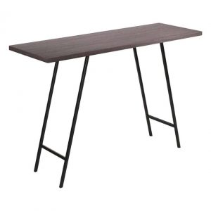 LOBO CONSOLE TABLE DARK OAK VENEER