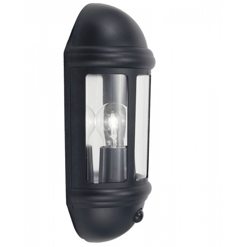 LATINA POLYCARBONATE HALF LANTERN WHITE  Thompsons Lighting & Interiors