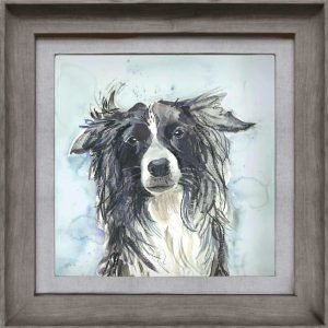 COLLIE FRAMED ART – VOYAGE MAISON