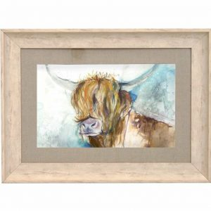 VOYAGE MAISON FRAMED ART BIRCH RORY