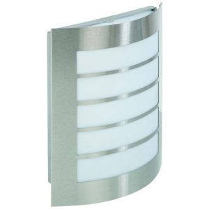 KSR LIGHTING ACQUA 8W WALL LIGHT STAINLESS STEELE