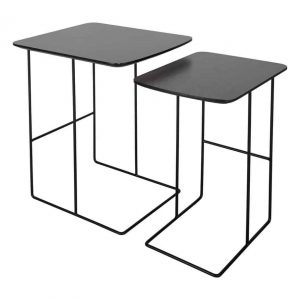 GEVORG NEST OF 2 TABLES SLATE