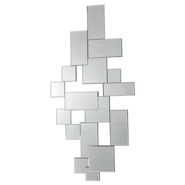 Block Rectangle Mirror 140CM X 70CM  Thompsons Lighting & Interiors