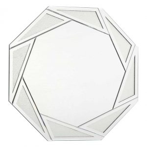 GOCCIA OCTAGON RAIN DROP EFFECT MIRROR 80CM
