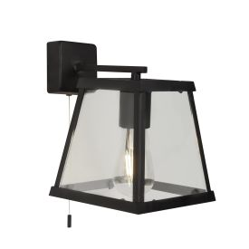 VOYAGER 1LT WALL LIGHT – BK