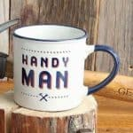 Handyman Stoneware Mug, Gift for Him