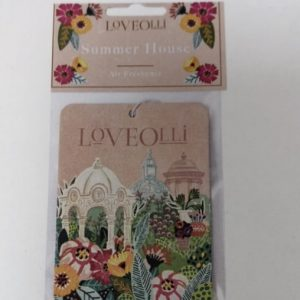 Summer House LoveOlli Car Air Freshener
