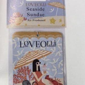Seaside Sundae LoveOlli Car Air Freshener